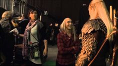 Several scenes depicting the work of these great actors on the set of The Hobbit DOS. Could anyone better to play a character Thranduil or Legolas?.