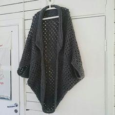 Crochet Cocoon Shrug Free Pattern
