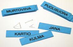 (2.-3.lk) Selitä jos osaat – Geometria 2.–3. luokka « OuLUMA – Pohjois-Suomen LUMA-toiminnan foorumi - Geometrian käsitteiden kertaaminen pelin avulla. Mathematics, Are You Happy, School, Maths, Math