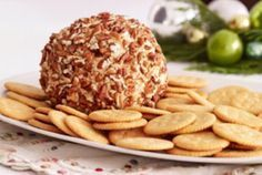 Dried Beef and Pineapple Cheese Ball | jessicasessentials