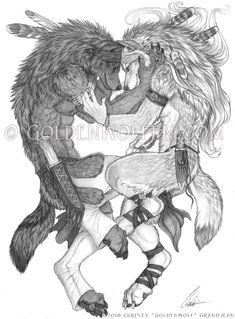 Your Heart is My Home by Goldenwolf Wolf Character, Character Design, Wind Wolves, Female Werewolves, Werewolf Girl, Drawing Commissions, She Wolf, Anime Furry, Anthro Furry
