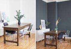 Meine Lieben, ich habe es gewagt. Seit kurzem schmückt ein dunkler grauer Farbton von Farrow & Ball unsere Wand im Wohnzimmer...