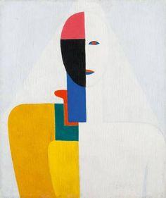 "Kazimir Malevich. ""Torso femenino"" (1928-29)"