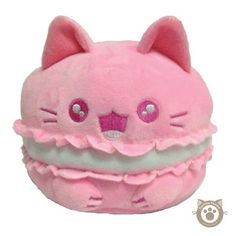 Purrista Pawfee: Cute Mewcaron Kitty Cat Plush