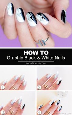 awesome 15 Step-by-Step Nail Tutorials You Can Copy Now - fashionsy.com