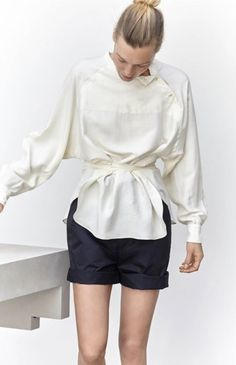 Isabel Marant S/S 2016 #style #fashion #shorts
