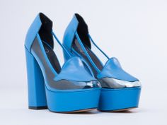 YES Time Travel in Blue at Solestruck.com