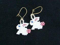 Easter Bunnies Earrings