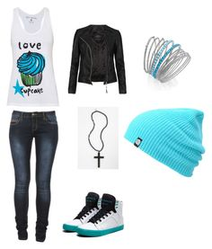 """""""Cute outfit/ Sam's Outfit"""" by tomboy22 ❤ liked on Polyvore featuring Supra, AllSaints, Cara and INC International Concepts"""