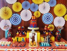 Divertidas ideas para fiestas de Jorge el curioso | Tarjetas Imprimibles