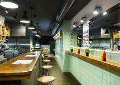 Frankfurt Station fast food restaurant by Egue y Seta, Barcelona