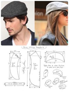 Best 12 Sewing Patterns Free Boys Newsboy Cap 55 Ideas For 2019 Hat Patterns To Sew, Sewing Patterns Free, Clothing Patterns, Diy Father's Day Gifts, Father's Day Diy, Sewing Clothes, Diy Clothes, Leather Hats, Diy Hat