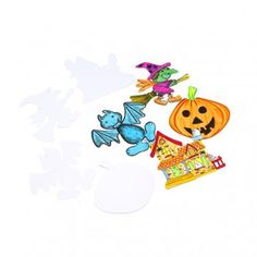 Halloween Figures (Pack of 4) - Halloween from Crafty Crocodiles UK
