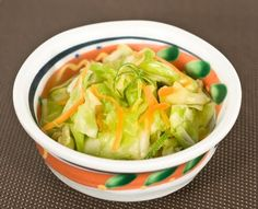 """Japanese Pickled Cabbage    It called """"Kyabetsu no asazuke"""" in Japanese Quick and easy pickles  Here is the recipe (Japanese vegetarian rec..."""