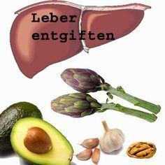 Normalerweise entgiftet die Leber unseren Körper - doch auch die Leber muss irgendwann mal von und entgiftet werden. #leber #detox #entgiftung