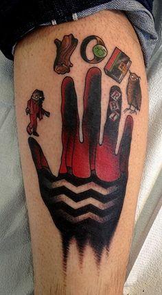 Amazing twin peaks tattoo