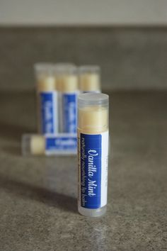Hey, I found this really awesome Etsy listing at https://www.etsy.com/listing/289516737/vanilla-mint-lip-balm-1-tube-natural-lip