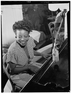 Mary Lou Williams was not only present for nearly every development in jazz music — she was influential to most of them. In her compositions, arrangements, piano playing, and teaching, she constantly advanced jazz music. Jazz Artists, Jazz Musicians, Local Artists, Music Artists, Women In History, Black History, American Women, American History, Durham