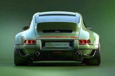 1990 Singer Porsche 964 DLS is the Steve Austin of Porsches Porsche 964, Singer Porsche, Carros Porsche, Singer 911, Porsche Autos, Porsche Sportwagen, Porsche Sports Car, Porsche Cars, Porsche Carrera
