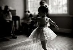 There's nothing like a baby ballerina.
