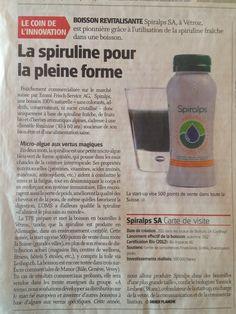 Spiralps in Le Nouvelliste! #spirulina #spiruline www.spiralps.ch