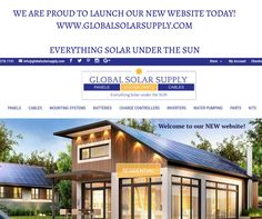 We are proud to share our NEW website! Look for new posts weekly - we would be proud  to be part of your next Solar project!
