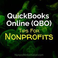 QuickBooks Tips for Nonprofits - Nonprofit Resources - Nonprofit Accounting