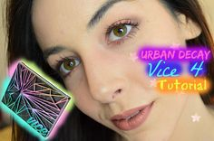 Urban Decay | Vice 4 Tutorial: 'Monarch Butterfly'