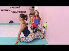 Упражнение на растяжку спины - YouTube