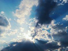 Lovely blue sky