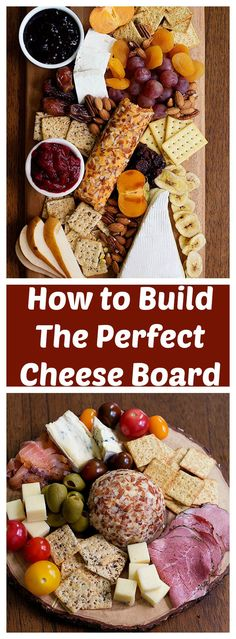 Learn How to Build the Perfect Cheese Board in two different themes that will rock your parties. These cheeseboards are great for holiday parties and gatherings! #InspireWithCheese #ad