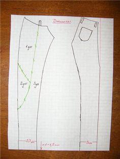 Изображение Moxie teenz pants pattern