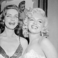 lauren bacall and marilyn
