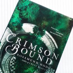 Going to be reading Crimson Bound after I finish The Palace Job #bookstagram