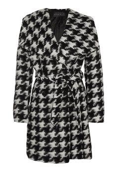 ESPRIT Collection Płaszcz wełniany /Płaszcz klasyczny czarny