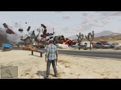 100 Cars Exploding In GTA V