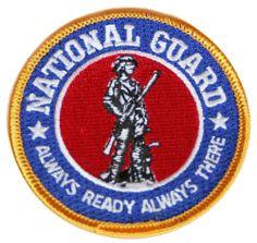 Parches militares, productos americanos, national guard, USA, made in USA, parches bordados. Do it yourself. DIY. Customiza tus jeans, customiza tu ropa. www.usamericanshop.com