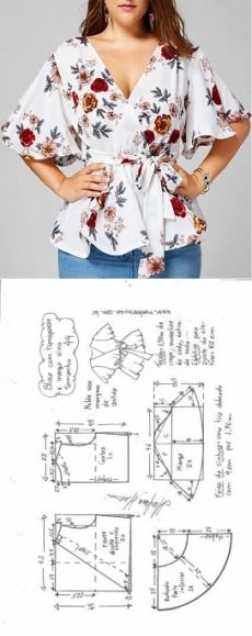 Amazing Sewing Patterns Clone Your Clothes Ideas. Enchanting Sewing Patterns Clone Your Clothes Ideas. Dress Sewing Patterns, Blouse Patterns, Sewing Patterns Free, Clothing Patterns, Make Your Own Clothes, Diy Clothes, Barbie Clothes, Fashion Sewing, Diy Fashion