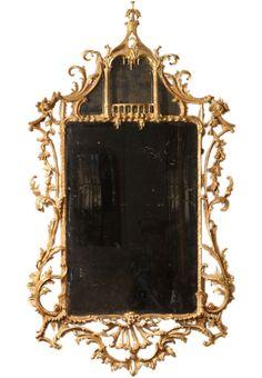 1stdibs | Rococo Chippendale Mirror