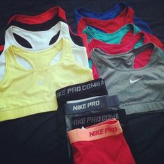 I think I would work out more if I had some badass workout clothes... Hint hint.