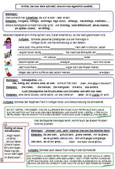 Groß- und Kleinschreibung bei Verb und Adjektiv nach der neuen Rechtschreibung
