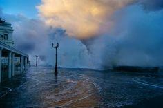 the storm in Sevastopol