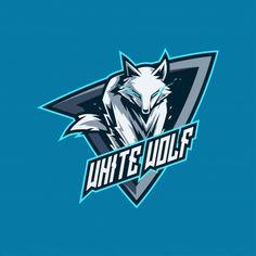 White wolf esports gaming logo PNG and Vector Renard Logo, Predator, Gaming Logo, Badge, Dog Background, Game Logo Design, Esports Logo, White Wolf, Wolf Black