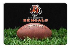 Cincinnati Bengals Classic NFL Football Pet Bowl Mat - L Z157-4421407115