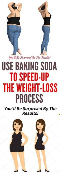 USE BAKING SODA TO SPEED-UP THE WEIGHT-LOSS PROCESS.. You must read this !!