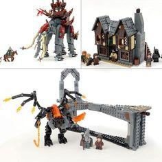 Bundle: Custom LEGO Lord of the Rings Instruction Collection – Build Better Bricks Samurai, Lego Display, Balrog, Amazing Lego Creations, Lego People, Lego Castle, Lego Design, Lego Parts, Custom Lego
