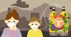 Un ensayo encontró que una combinación de altas dosis de vitaminas B pueden compensar completamente los daños causados por la contaminación del aire. http://articulos.mercola.com/sitios/articulos/archivo/2017/03/27/las-vitaminas-b-podrian-ayudar-a-protegerlo-contra-la-contaminacion.aspx