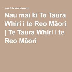 Nau mai ki Te Taura Whiri i te Reo Māori   Te Taura Whiri i te Reo Māori