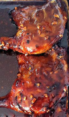 Duck Leg Recipes, Wild Game Recipes, Meat Recipes, Peking Duck, Pause, Fish And Chips, Chicken Wings, Sauce Barbecue, Pork