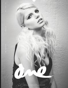 ONE Magazine Issues 1-4 by Nicole Gavrilles, via Behance